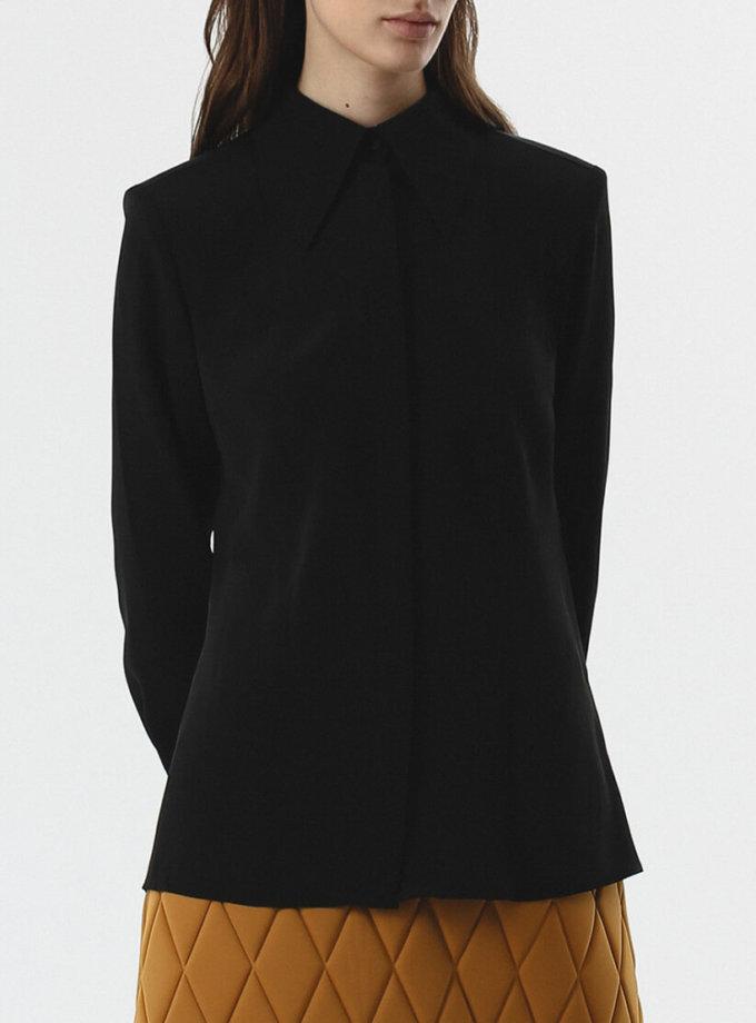 Блуза с карманами SHKO_20019001, фото 1 - в интернет магазине KAPSULA