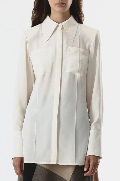 Блуза с карманами SHKO_20019002, фото 1 - в интеренет магазине KAPSULA