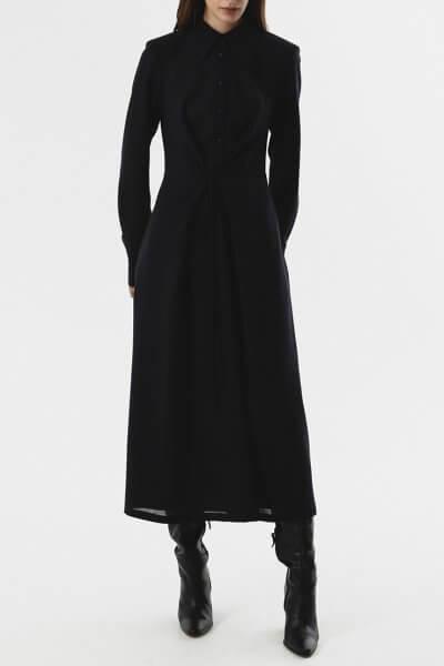 Платье-рубашка с тесьмами на талии SHKO_20024003, фото 1 - в интеренет магазине KAPSULA