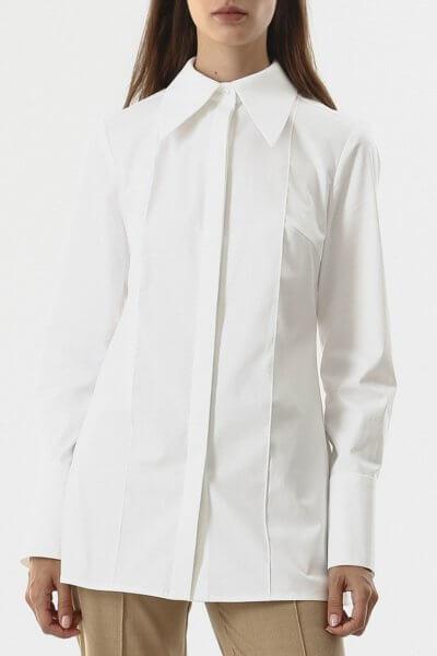 Блуза из плотного хлопка SHKO_20026001, фото 1 - в интеренет магазине KAPSULA