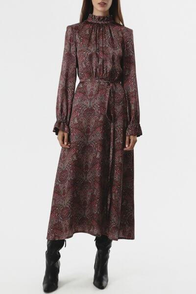 Платье миди со сборками SHKO_20029001, фото 1 - в интеренет магазине KAPSULA