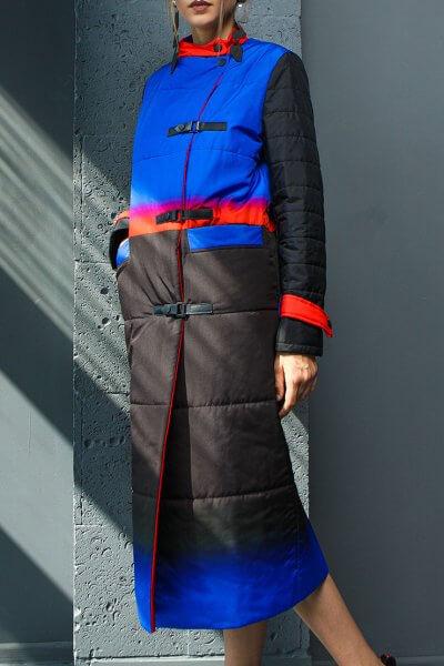 Стёганное пальто на легком утеплителе TBC_20081pl_1925, фото 1 - в интеренет магазине KAPSULA