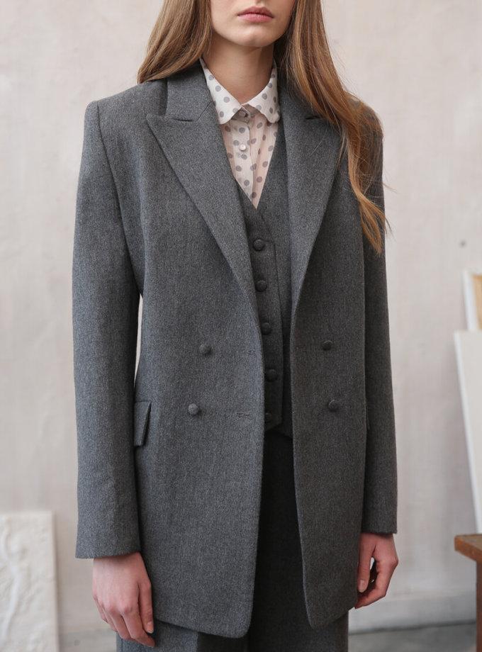 Пиджак из шерсти VONA_FW-20-21-06, фото 1 - в интернет магазине KAPSULA