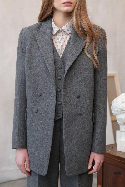 Пиджак из шерсти VONA_FW-20-21-06, фото 1 - в интеренет магазине KAPSULA