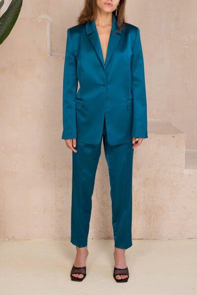 Зауженные брюки с карманами VONA_FW-20-21-38, фото 1 - в интеренет магазине KAPSULA
