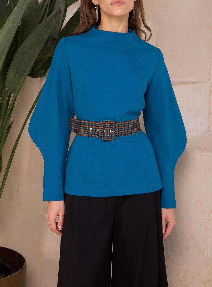 Свитер с оригинальными рукавами VONA_FW-20-21-47, фото 1 - в интеренет магазине KAPSULA