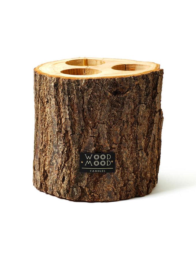 Свеча в дереве 3-в-1 WM_rocky_3-in-1, фото 1 - в интернет магазине KAPSULA