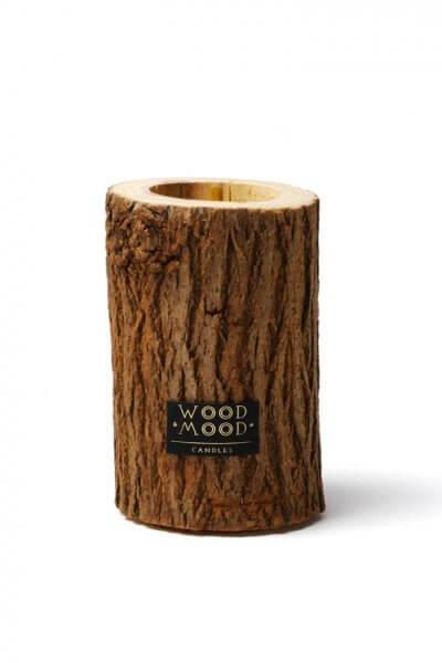 Свеча в дереве с ароматом кедра M WM_rocky_m, фото 1 - в интеренет магазине KAPSULA