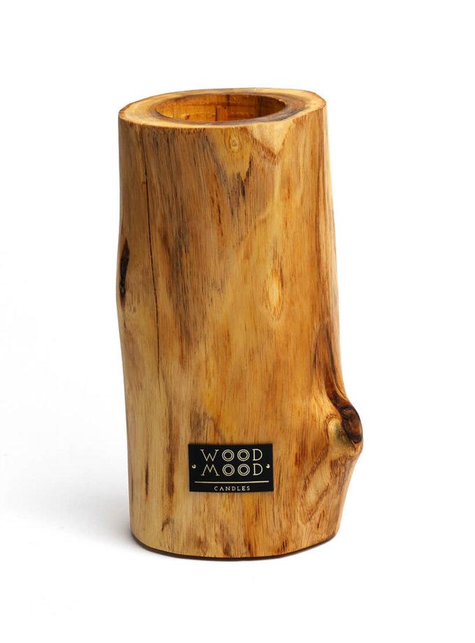 Свеча в дереве с ароматом меда и дерева L WM_ubud_L, фото 1 - в интеренет магазине KAPSULA
