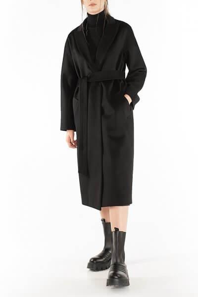 Пальто из кашемира с поясом Black WNDR_Fw1920_cshbl_11_black, фото 1 - в интеренет магазине KAPSULA
