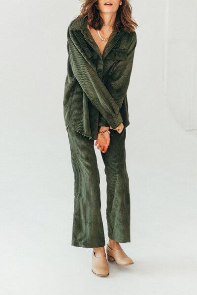 Вельветовые брюки BLCGR_BLCN734, фото 1 - в интеренет магазине KAPSULA