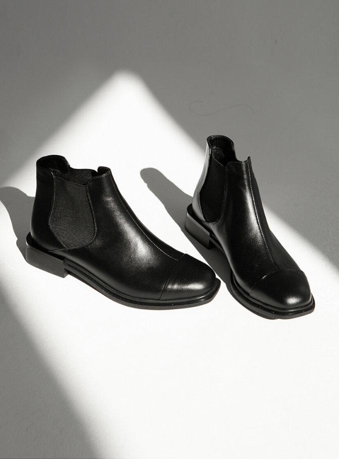 Кожаные ботинки Каскара на флисе ED_KSK-01, фото 1 - в интеренет магазине KAPSULA