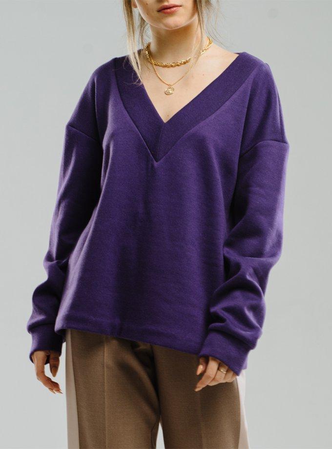 Джемпер с V-вырезом MNTK_MTF2016-sweater, фото 1 - в интеренет магазине KAPSULA