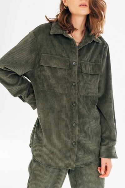 Вельветовая рубашка BLCGR_BLCN733, фото 1 - в интеренет магазине KAPSULA
