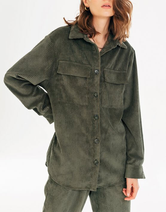Вельветовая рубашка BLCGR_BLCN733, фото 6 - в интеренет магазине KAPSULA