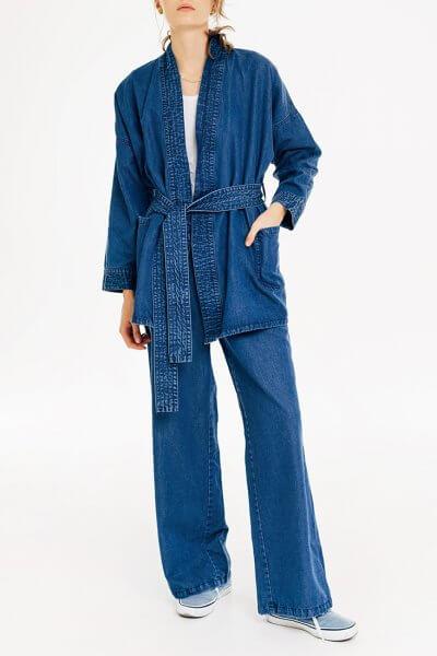 Джинсовое кимоно BLCGR_BLCN726, фото 1 - в интеренет магазине KAPSULA