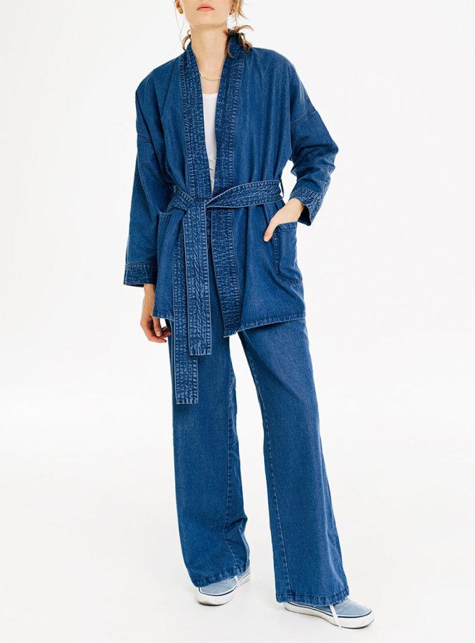 Джинсовое кимоно BLCGR_BLCN726, фото 1 - в интернет магазине KAPSULA
