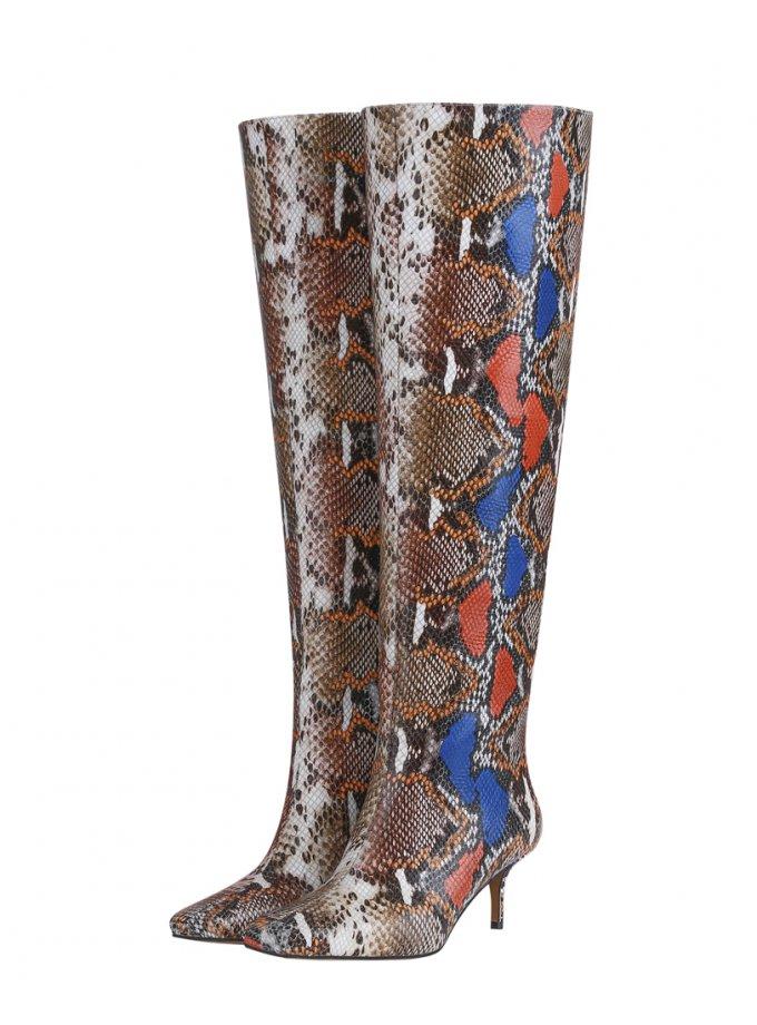 Высокие кожаные сапоги SAYYA_30_FW1100, фото 1 - в интеренет магазине KAPSULA