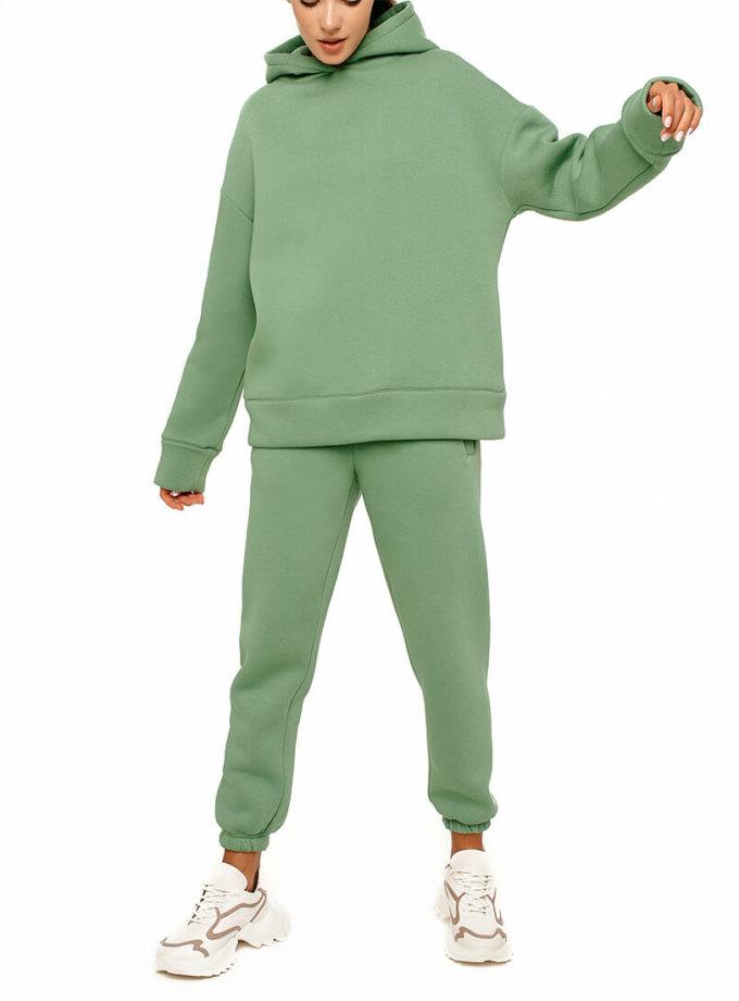 Хлопковый костюм на флисе MGN_1942MT, фото 1 - в интернет магазине KAPSULA