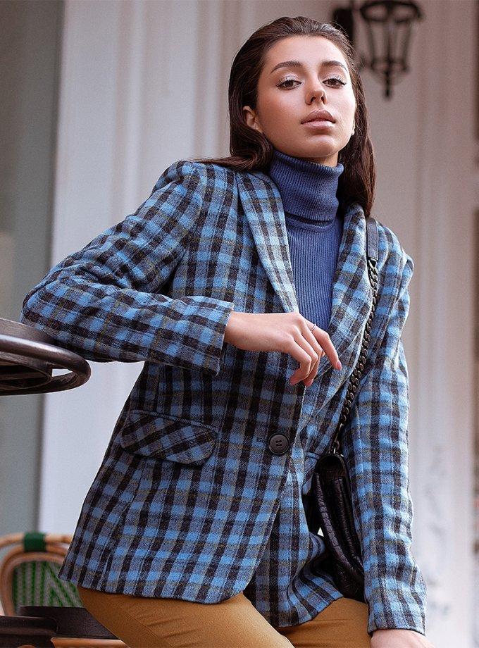Обьемный жакет Kate из шерсти MC_MY1121-1, фото 1 - в интеренет магазине KAPSULA