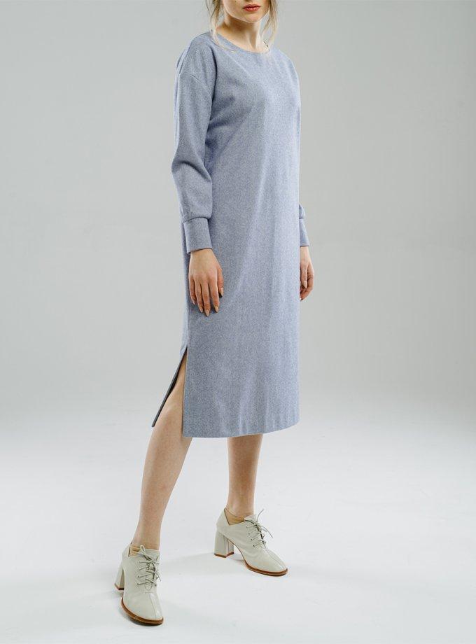 Платье прямого силуэта с разрезами MNTK_MTF2025, фото 1 - в интеренет магазине KAPSULA
