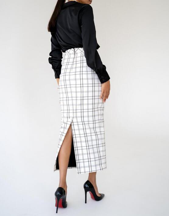 Блуза Malena с манжетами MC_MY1021-3, фото 3 - в интеренет магазине KAPSULA