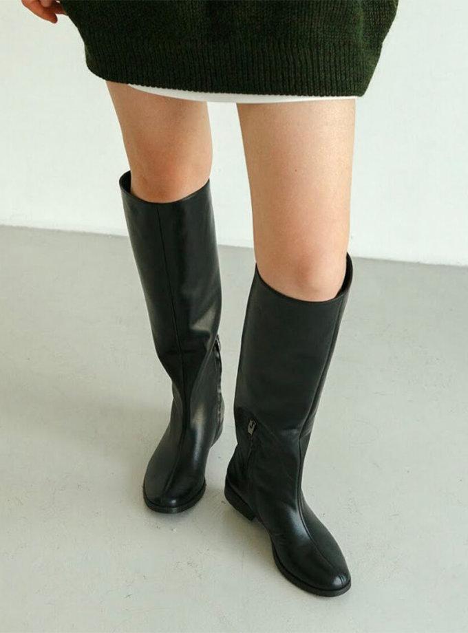 Кожаные сапоги Jill LA_30_Jill, фото 1 - в интеренет магазине KAPSULA