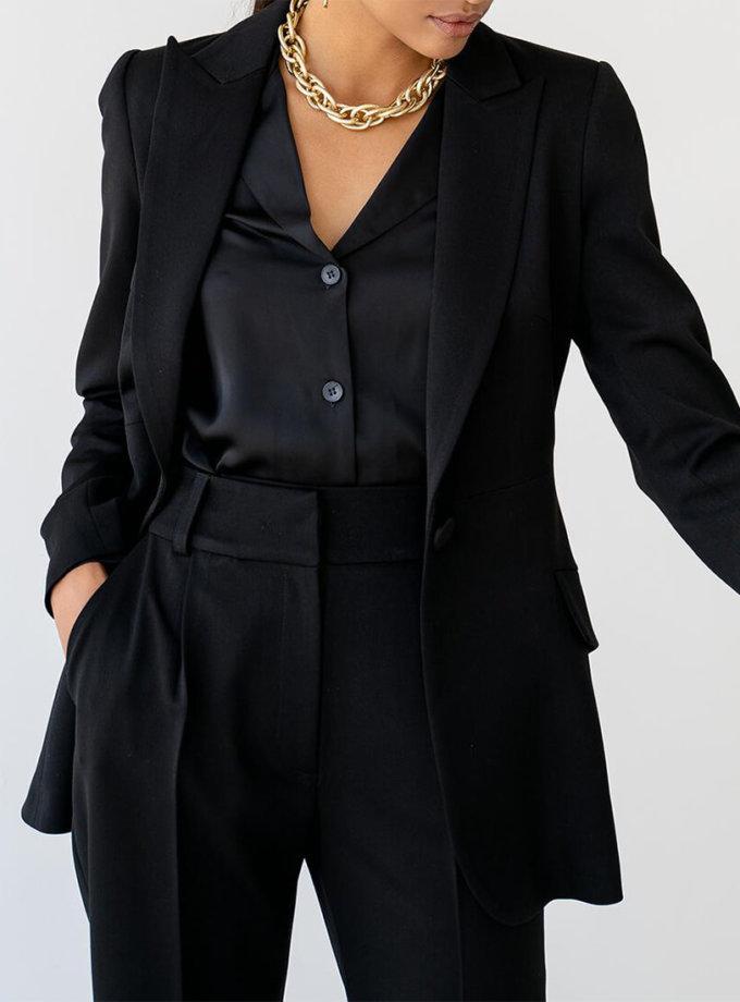 Блуза Malena с манжетами MC_MY1021-3, фото 1 - в интернет магазине KAPSULA