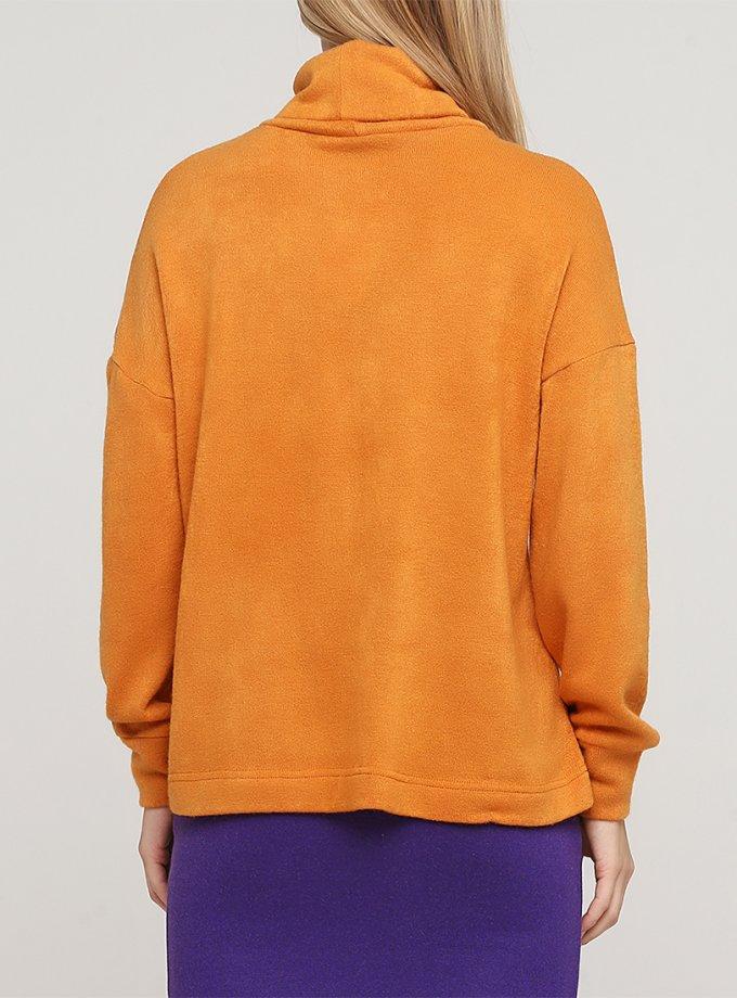 Удлиненный свитер с высокой горловиной MNTK_MTF2024, фото 1 - в интернет магазине KAPSULA