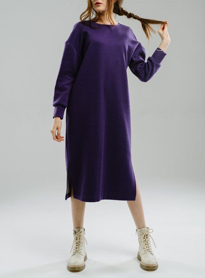 Платье прямого силуэта с разрезами MNTK_MTF2020, фото 1 - в интеренет магазине KAPSULA