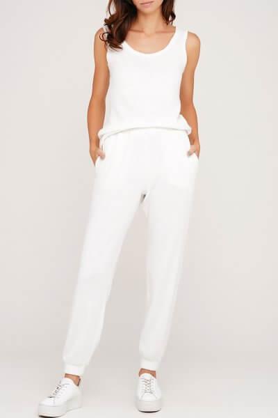 Белые ангоровые брюки AY_3066, фото 1 - в интеренет магазине KAPSULA