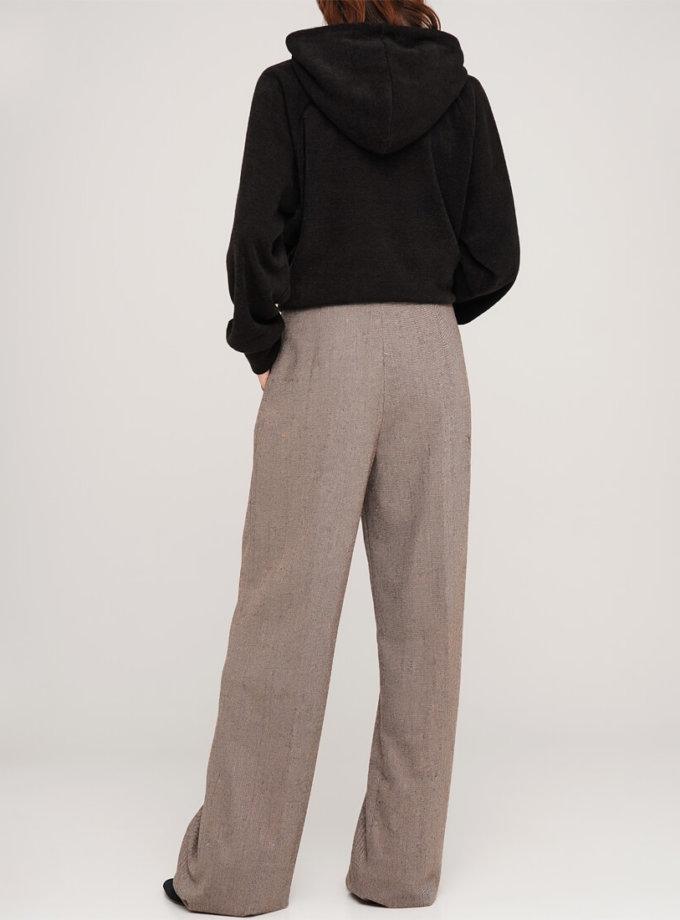 Широкие брюки из шерсти AY_3067, фото 1 - в интеренет магазине KAPSULA