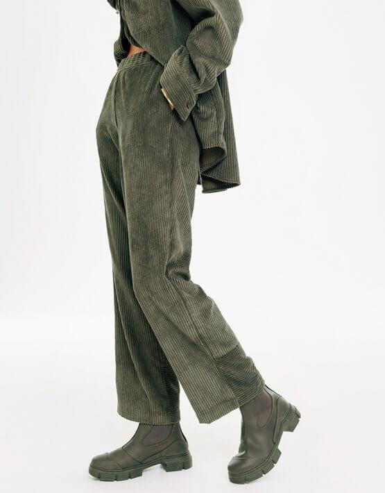 Вельветовые брюки BLCGR_BLCN734, фото 4 - в интеренет магазине KAPSULA