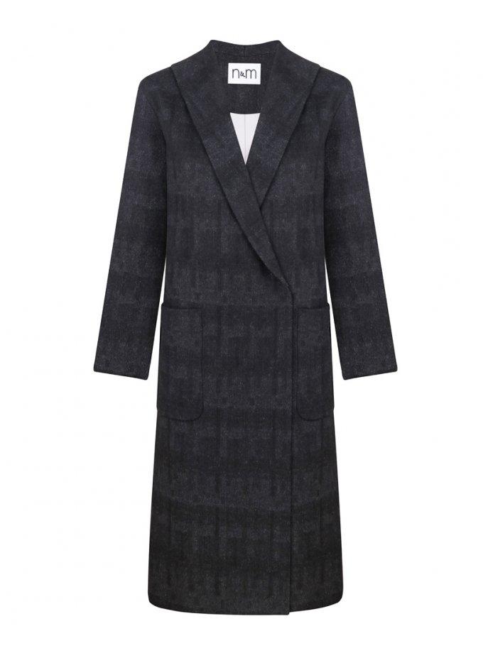 Пальто из шерсти с поясом NM_397, фото 1 - в интеренет магазине KAPSULA