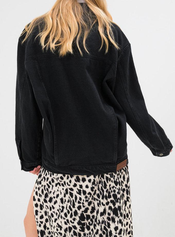 Джинсовая куртка-бомбер WNDM_bmbr0, фото 1 - в интернет магазине KAPSULA