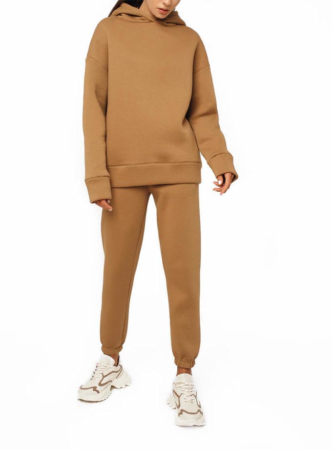 Хлопковый костюм на флисе MGN_1942K, фото 1 - в интернет магазине KAPSULA