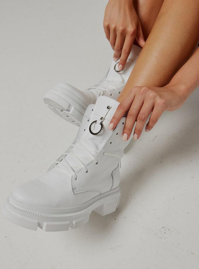 Кожаные ботинки Legion на флисе ED_LG-02, фото 1 - в интеренет магазине KAPSULA