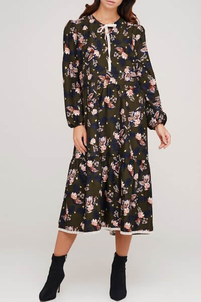 Платье с кружевом AY_3045, фото 1 - в интеренет магазине KAPSULA
