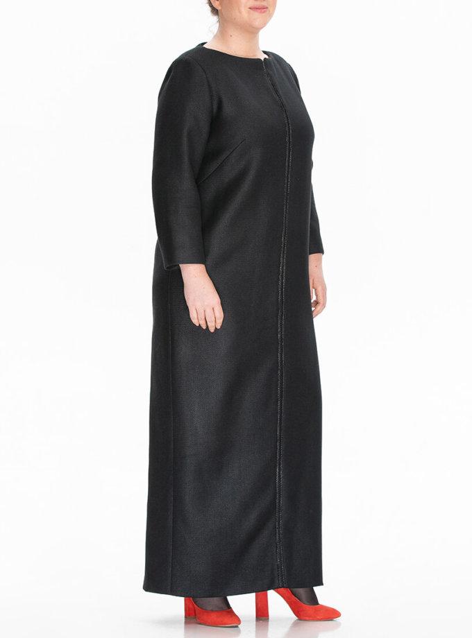 Платье в пол из шерсти ALOT_100444, фото 1 - в интеренет магазине KAPSULA