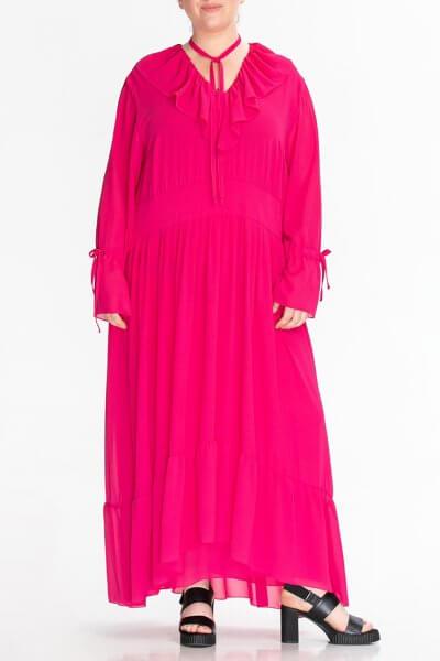 Платье из жатого шифона ALOT_100445, фото 1 - в интеренет магазине KAPSULA