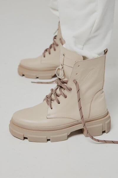 Кожаные ботинки Legion на флисе ED_LG-16, фото 6 - в интеренет магазине KAPSULA