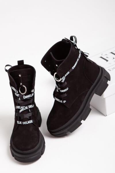 Кожаные ботинки Legion на флисе ED_LG-01, фото 4 - в интеренет магазине KAPSULA