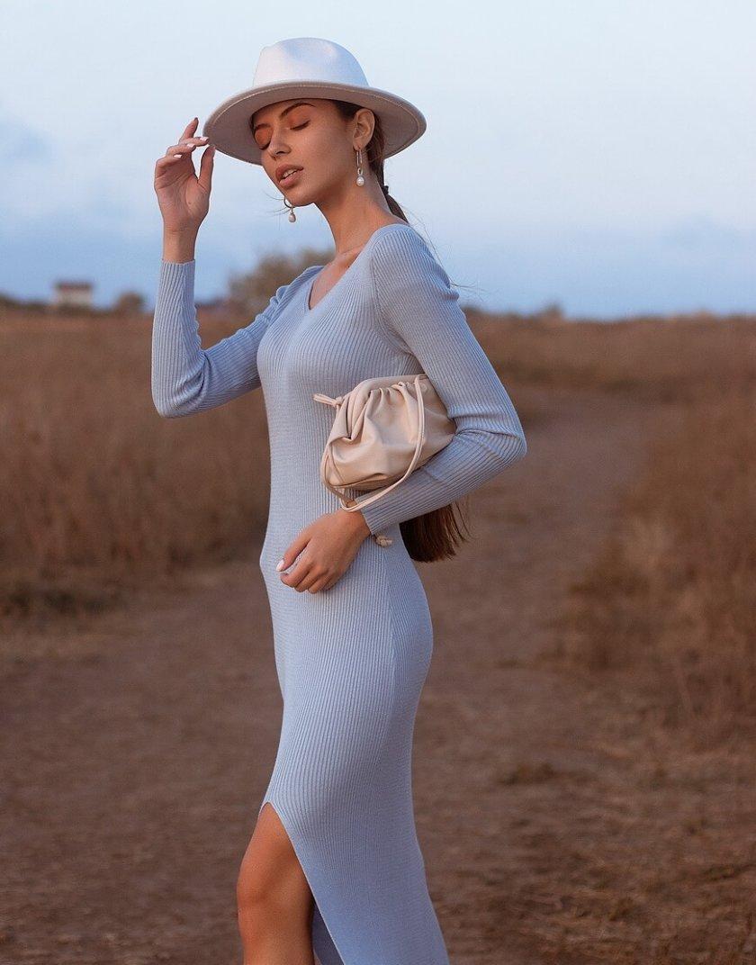 Платье MARA c разрезом JDW_J.D.0510, фото 1 - в интернет магазине KAPSULA