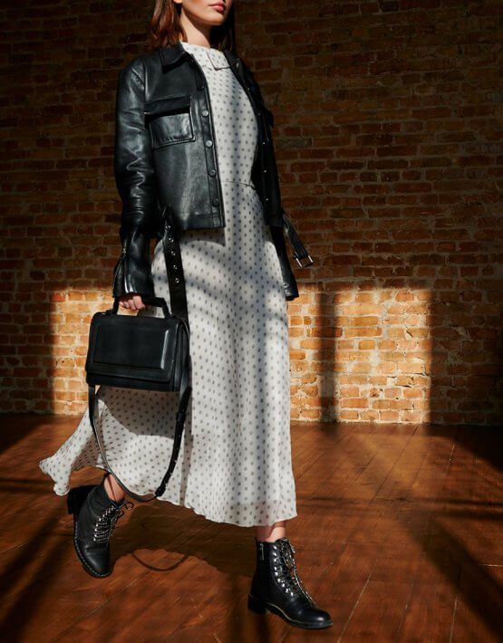 Кожаная сумка BONY KLNA_BN2-black, фото 6 - в интеренет магазине KAPSULA