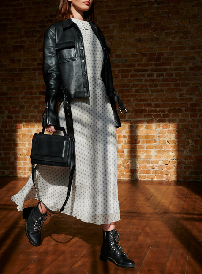Кожаная сумка BONY KLNA_BN2-black, фото 1 - в интеренет магазине KAPSULA