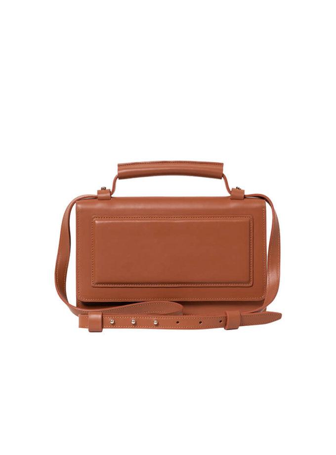 Кожаная сумка BONY BN2- caramel, фото 1 - в интеренет магазине KAPSULA