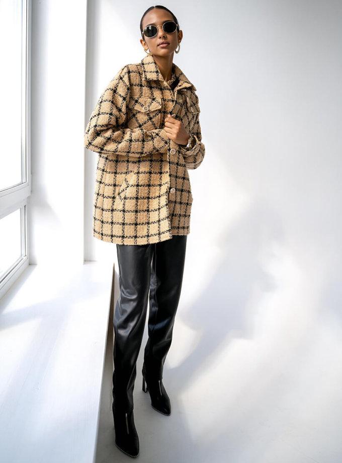 Теплая рубашка Naomi  из шерсти MC_MY0821, фото 1 - в интеренет магазине KAPSULA