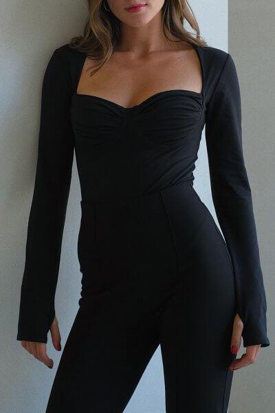 Боди-бюстье из хлопка MSY_body_bustier, фото 1 - в интеренет магазине KAPSULA