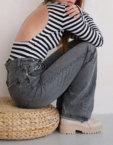 Боди из хлопка с открытой спиной MSY_Body_turtleneck, фото 3 - в интеренет магазине KAPSULA