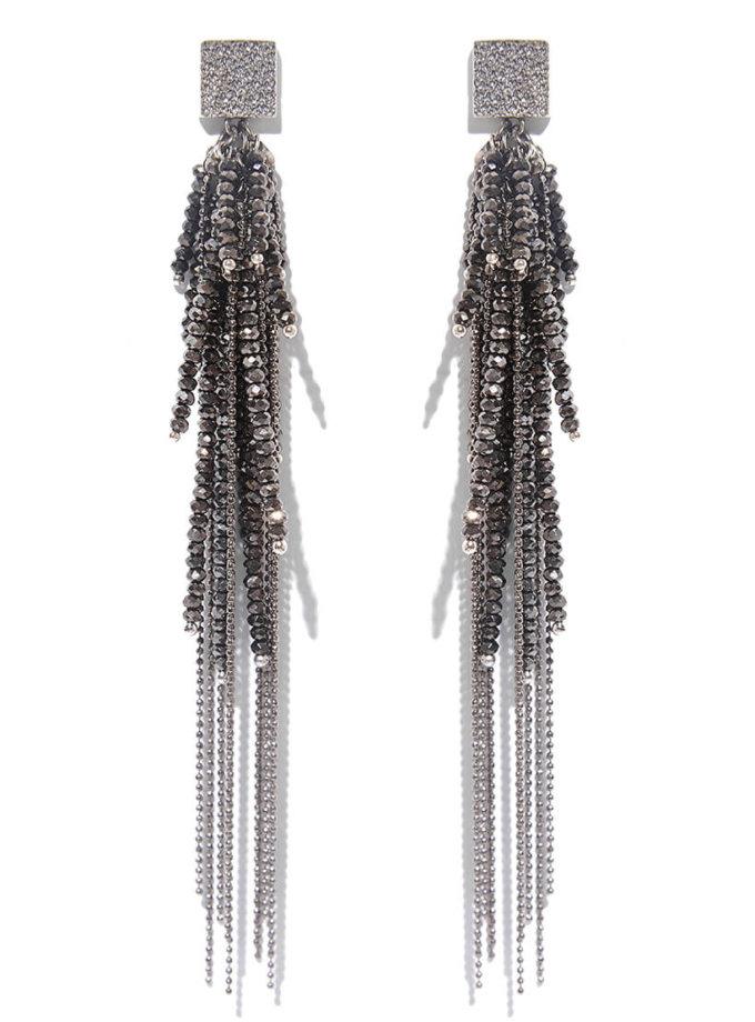 Серьги Грозди из серебра NTB_NB290S, фото 1 - в интеренет магазине KAPSULA